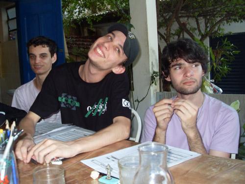 Caio, Byrus e Lucas - xuxu's